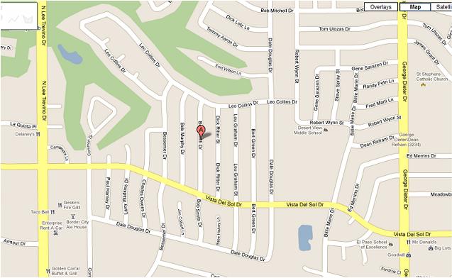 Montserrat\'s Dream Day Care - MAP - EL PASO, TX 79936, East Side